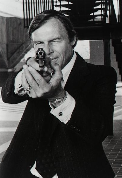 Adam West in The Specialist (1975)