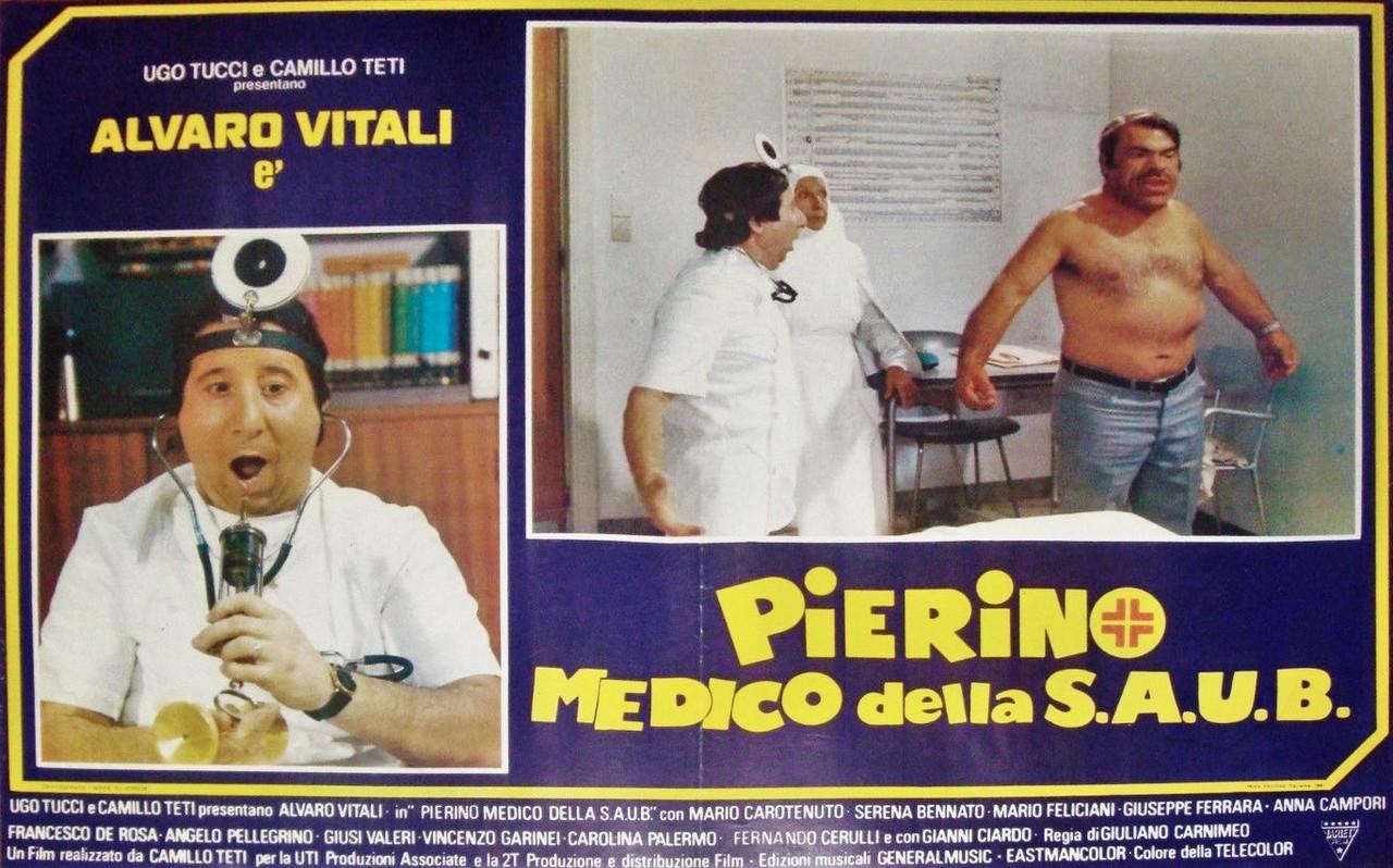 Salvatore Baccaro, Anna Campori, and Alvaro Vitali in Pierino medico della SAUB (1981)