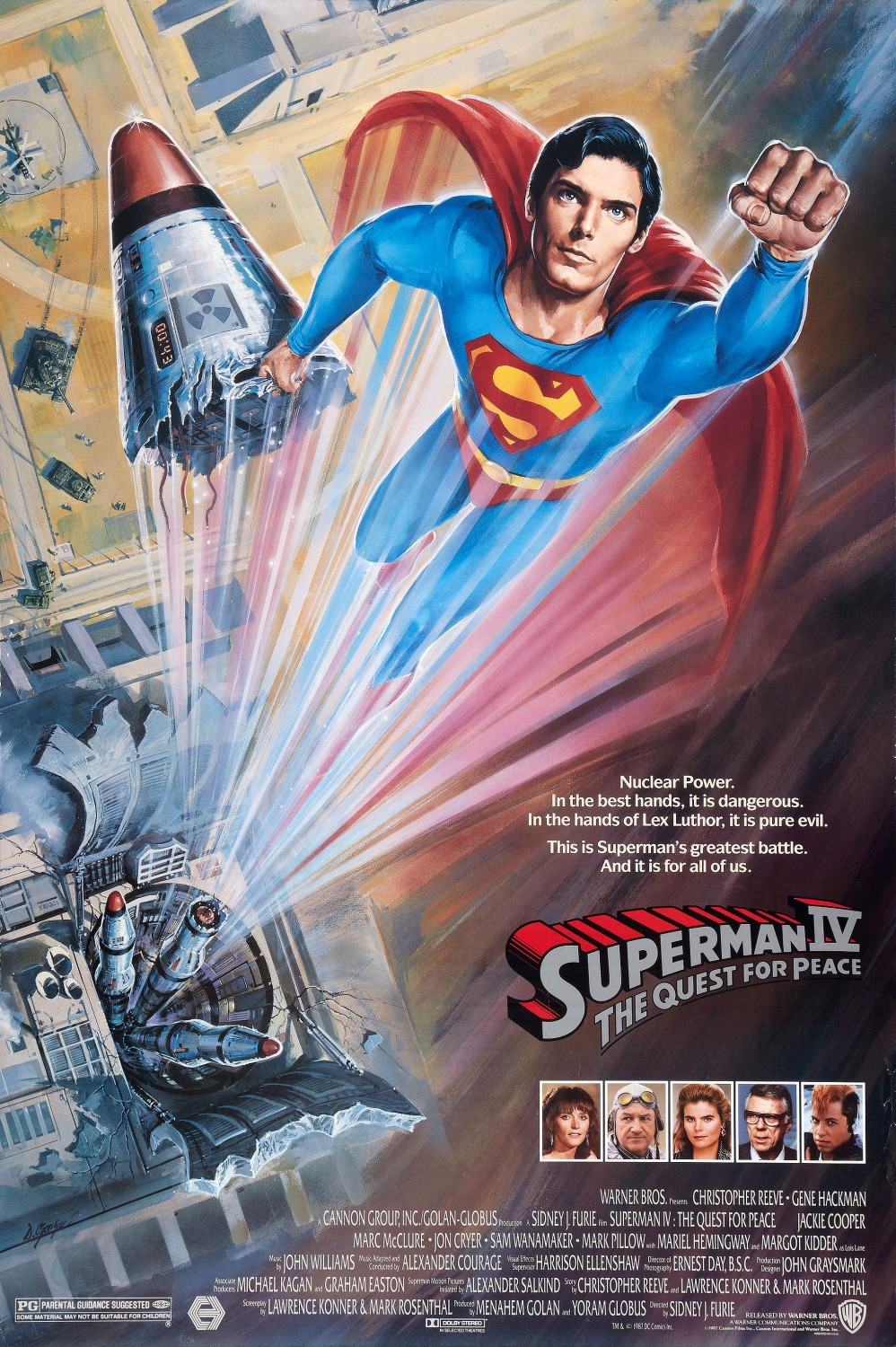Superman IV: The Quest for Peace (1987) - IMDb