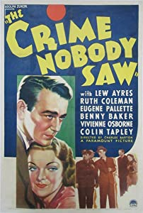 Short free downloadable movies The Crime Nobody Saw [BDRip]