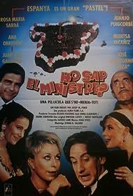 Rosa Maria Sardà, Juan Luis Galiardo, Ana Obregón, and Juanjo Puigcorbé in Ho sap el ministre? (1991)
