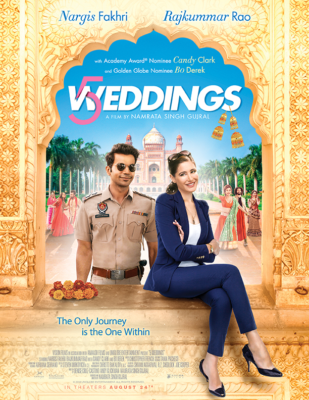 5 Weddings (2018) Hindi Pre-DvDRip – 480P | 720P – x264 – 275MB | 700MB | 840MB Download