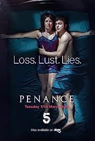 Julie Graham and Nico Mirallegro in Penance (2020)