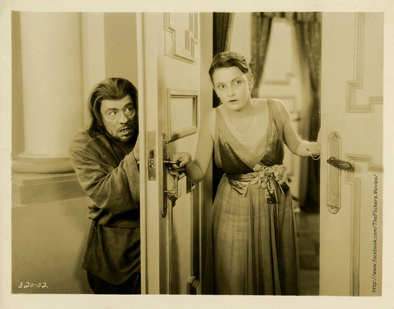 Barbara Bedford and Lon Chaney in Mockery (1927)