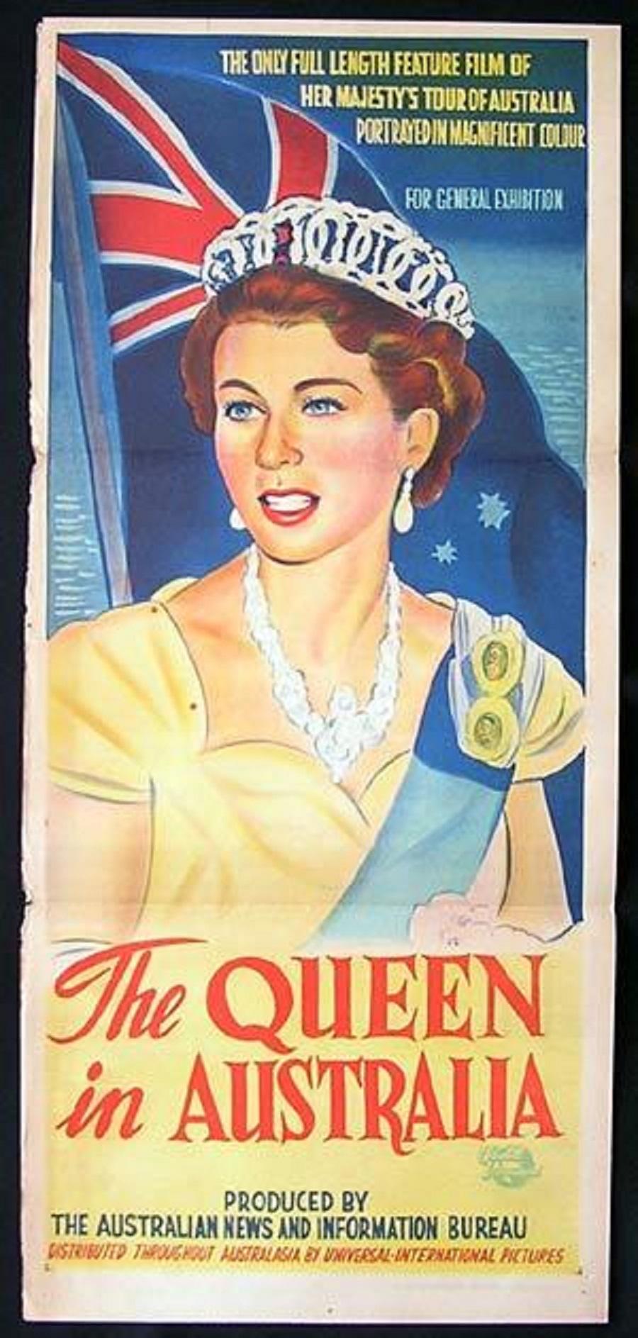 b7170c44cfda The Queen in Australia (1954) - IMDb