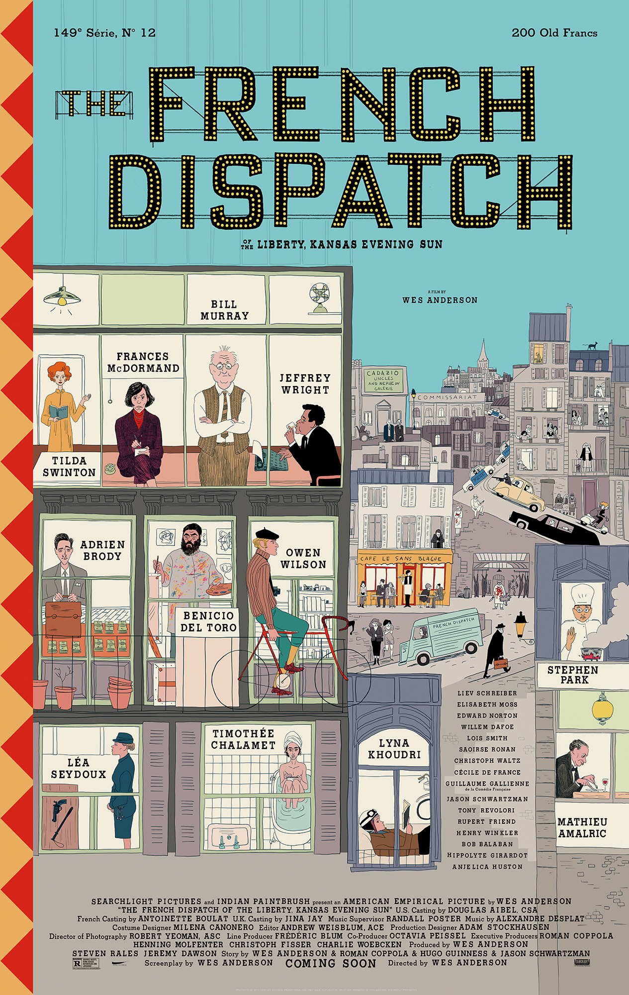 watch The French Dispatch on soap2day