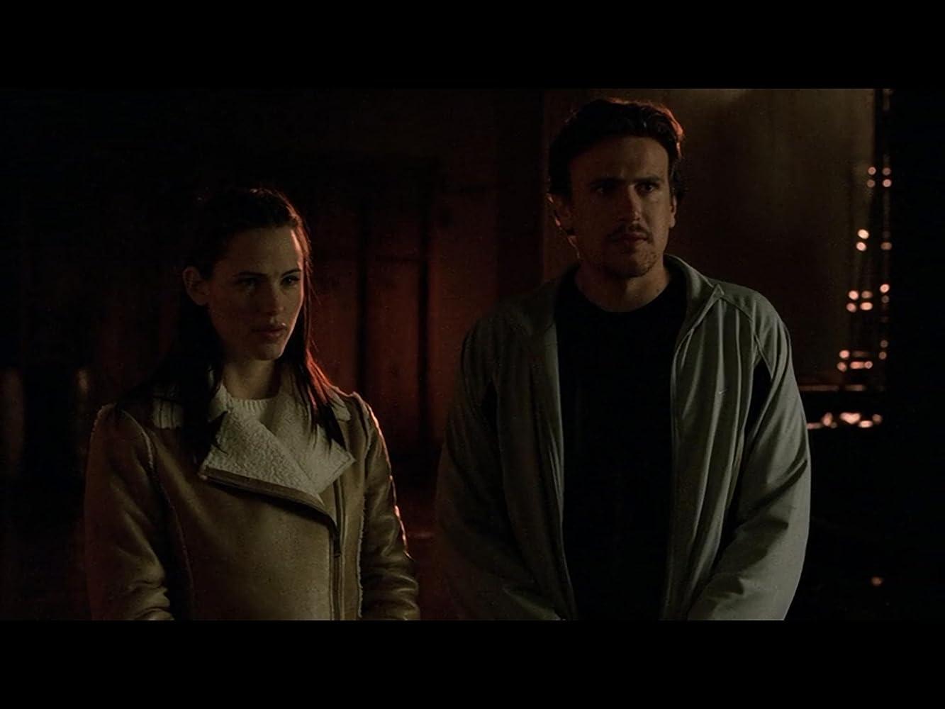 Jennifer Garner and Jason Segel in Alias (2001)