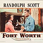 Randolph Scott and Phyllis Thaxter in Fort Worth (1951)