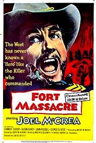 Joel McCrea in Fort Massacre (1958)