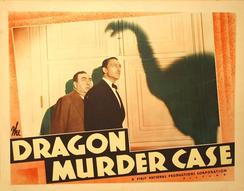 Eugene Pallette and Warren William in The Dragon Murder Case (1934)