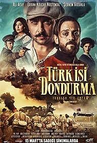Will Thorp, Ali Atay, Sebnem Bozoklu, Marleen Mathews, and Erkan Kolçak Köstendil in Türk Isi Dondurma (2019)