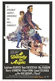 A Dandy in Aspic (1968) Poster - Movie Forum, Cast, Reviews