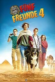 Valeria Eisenbart, Quirin Oettl, Neele-Marie Nickel, Justus Schlingensiepen, and Bobby in Fünf Freunde 4 (2015)