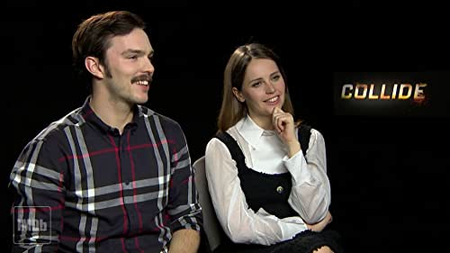'Collide' Stars Nicholas Hoult and Felicity Jones On Their Favorite Car Chases