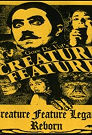 Creature Feature: The Weekly Web Program Poster