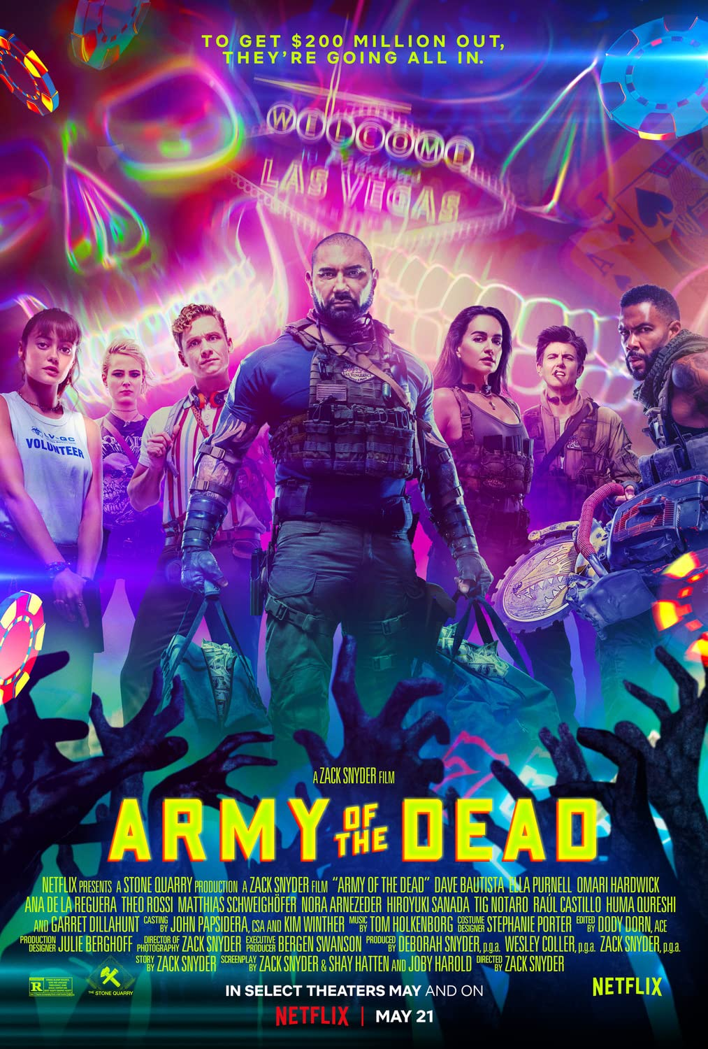 Army of the Dead (2021) Hindi Dubbed