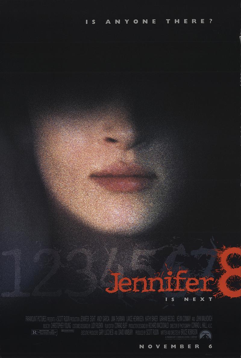 Uma Thurman in Jennifer Eight (1992)