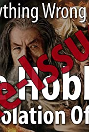 Re-Issue: Everything Wrong With The Hobbit: The Desolation of Smaug Poster