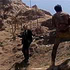 Burt Reynolds and Aldo Sambrell in Navajo Joe (1966)