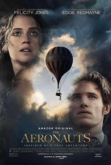 Poster of The Aeronauts 2019 Full English Free Download Watch Online In HD Movie Download 480p HDRip