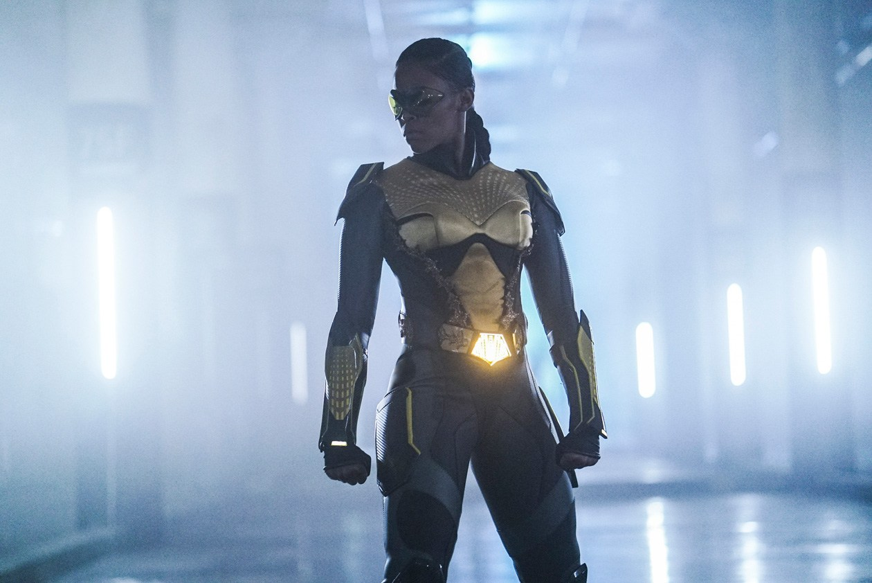 Nafessa Williams in Black Lightning (2018)