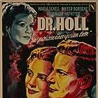 Heidemarie Hatheyer, Dieter Borsche, and Maria Schell in Dr. Holl (1951)