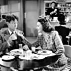 Joe E. Brown and Marguerite Chapman in The Daring Young Man (1942)