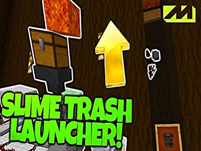 Guarda i film d'azione giapponesi dal vivo Mine Block: Mods: Clip: Slime Block Trash can Launcher (2015) [mts] [320x240]