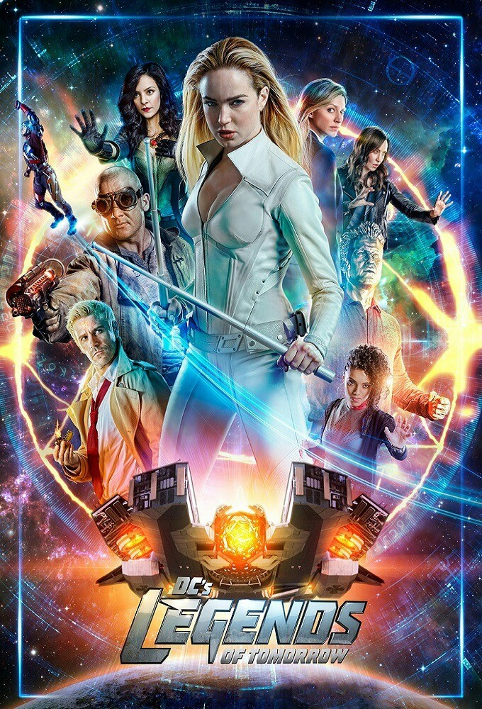 Legends of Tomorrow Season 4 COMPLETE WEBRip 480p, 720p & 1080p