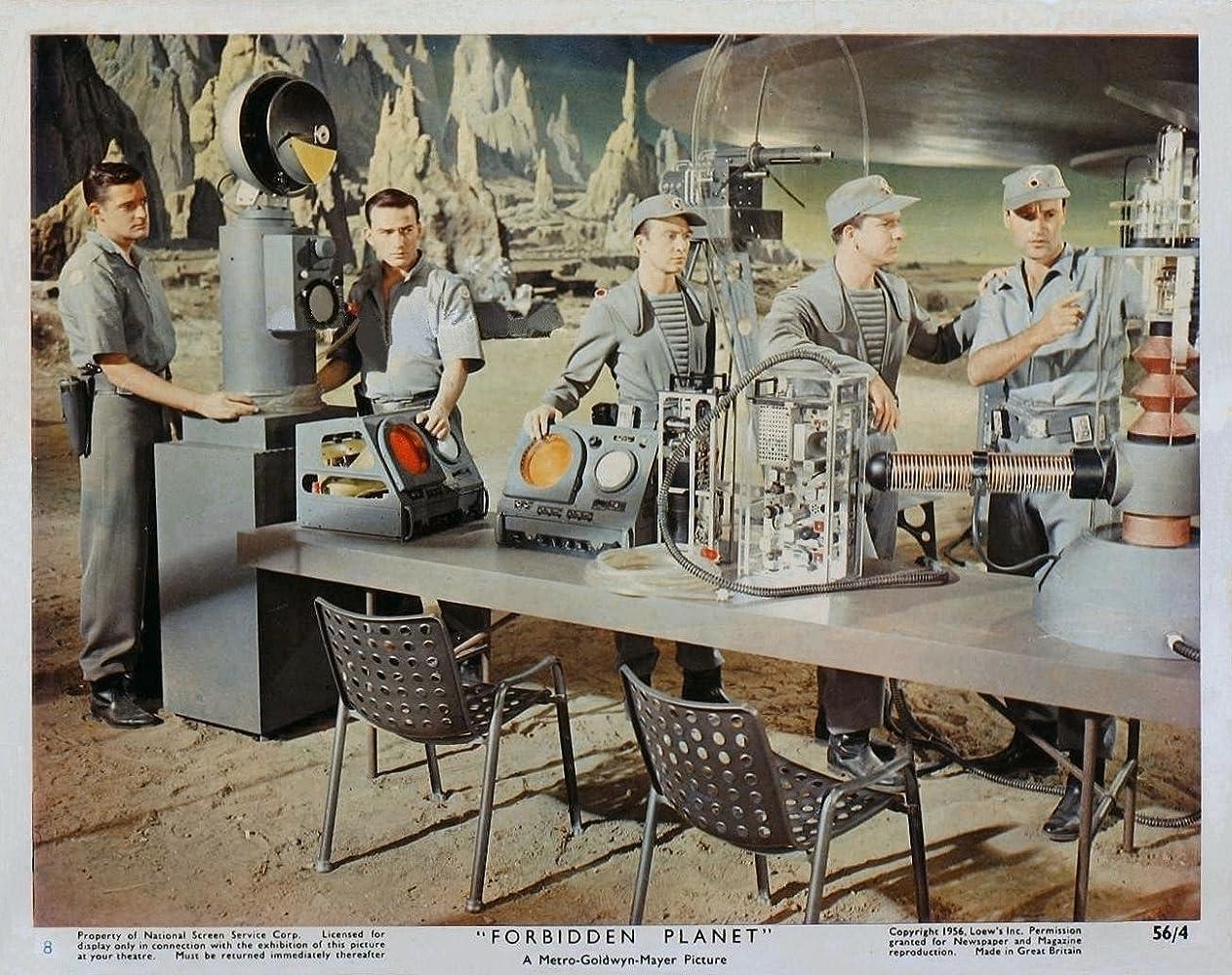 Leslie Nielsen in Forbidden Planet (1956)