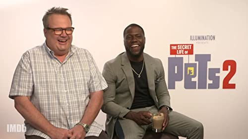 Kevin Hart and Eric Stonestreet Make Each Other Laugh