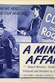 Andy Clyde and Charley Rogers in A Miner Affair (1945)