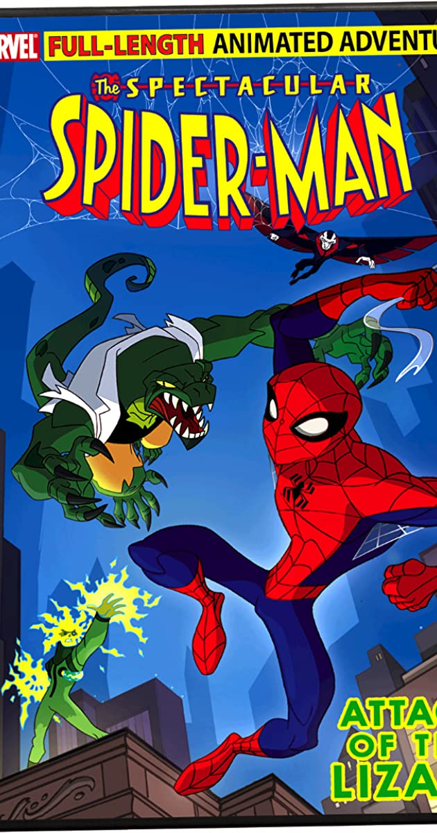 The Spectacular Spider Man Attack Of The Lizard Video 2008 Imdb