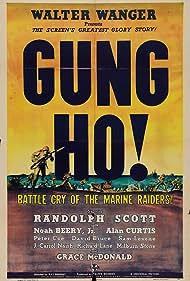 Randolph Scott, Noah Beery Jr., Alan Curtis, Sam Levene, and J. Carrol Naish in 'Gung Ho!': The Story of Carlson's Makin Island Raiders (1943)