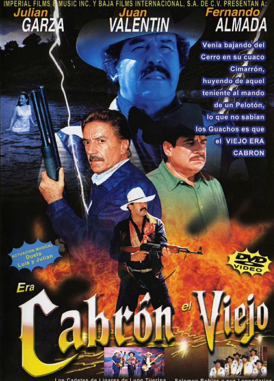 Fernando Almada, Julián Garza, and Juan Valentín in Era Cabron el viejo (2000)