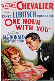 Maurice Chevalier and Jeanette MacDonald in One Hour with You (1932)