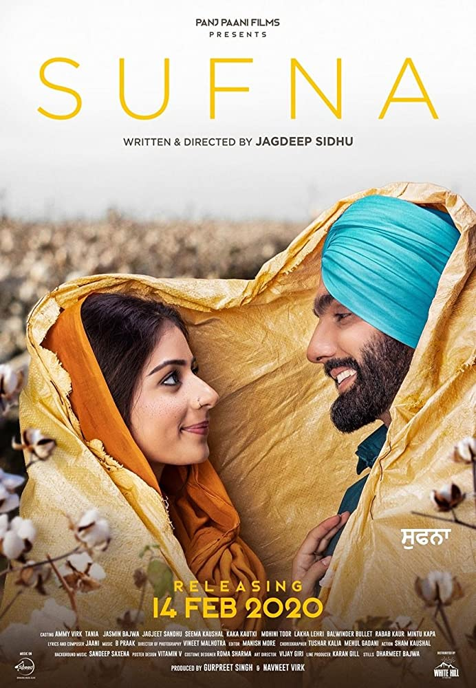 Sufna 2020 Punjabi Full Movie 480p HDRip ESubs 400MB MKV