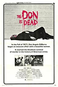 The Don Is Dead (1973) Poster - Movie Forum, Cast, Reviews