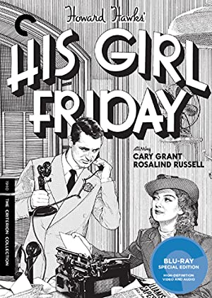 Howard Hawks on the Front Page and His Girl Friday