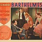 Richard Barthelmess, Robert Barrat, Aline MacMahon, and Loretta Young in Heroes for Sale (1933)