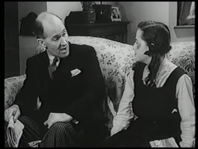 Margaret Barton and Frederick Piper in Fly Away Peter (1948)