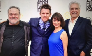 Lewis Black, Ethan Hawke, Lori Madrid, Tommy G Warren