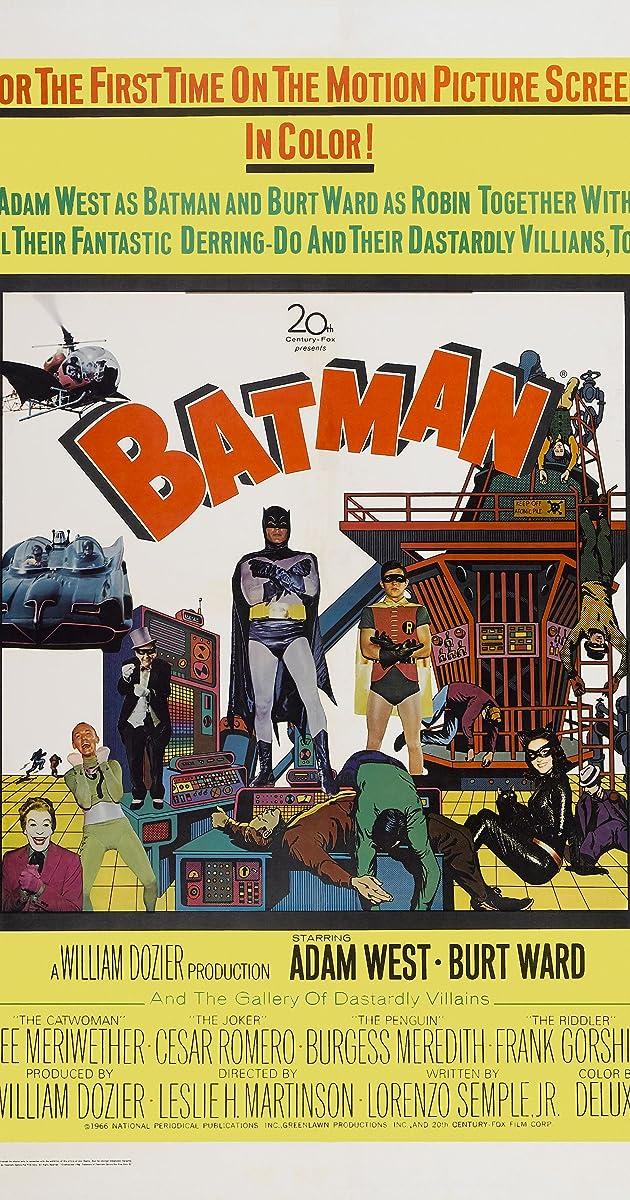 Batman The Movie 1966 Imdb