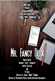 Mr. Fancy Desk Poster
