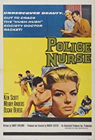 Merry Anders and Barbara Mansell in Police Nurse (1963)