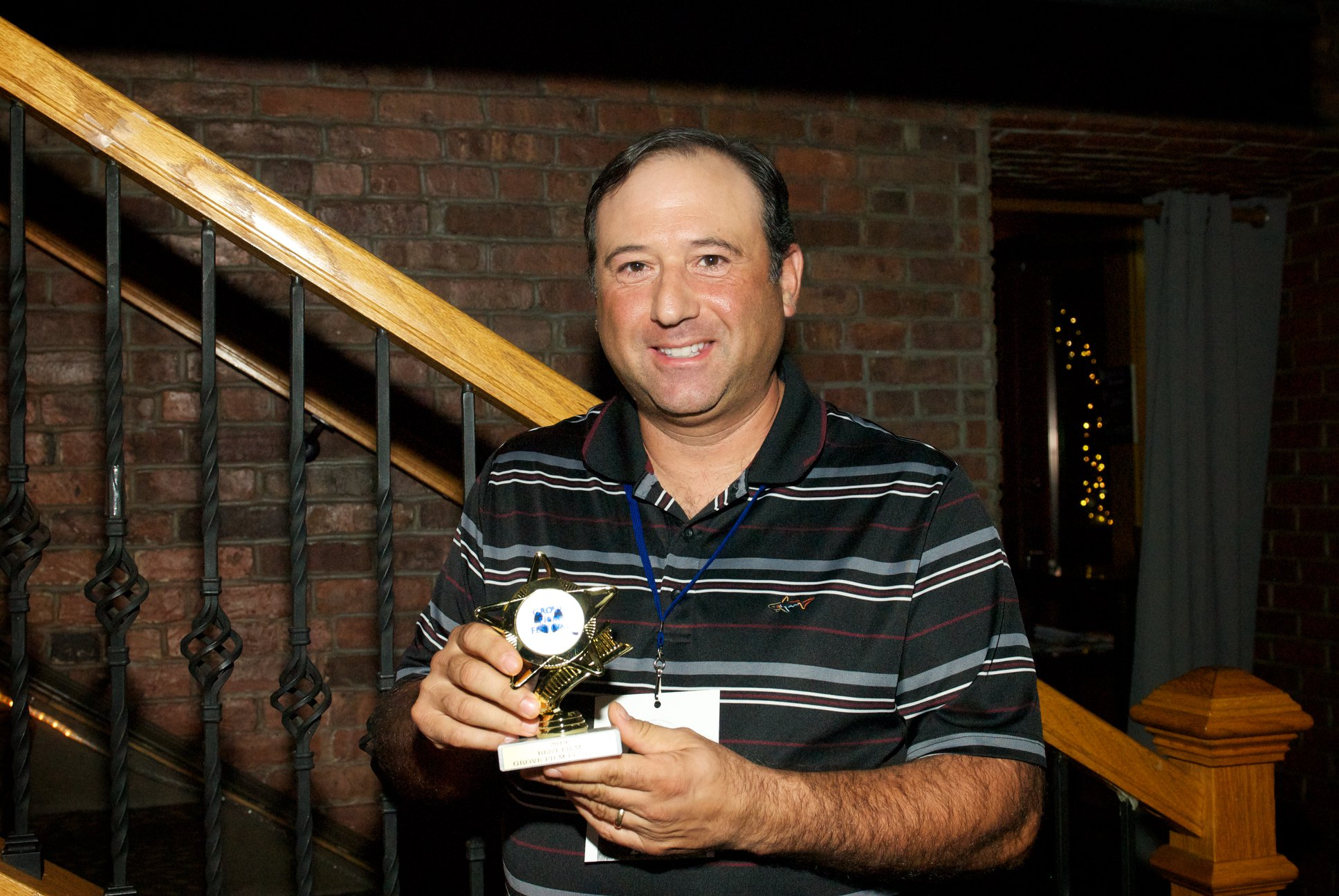 Robert Sciglimpaglia at Grove Film Festival -- Best Film Winner - Within and Without