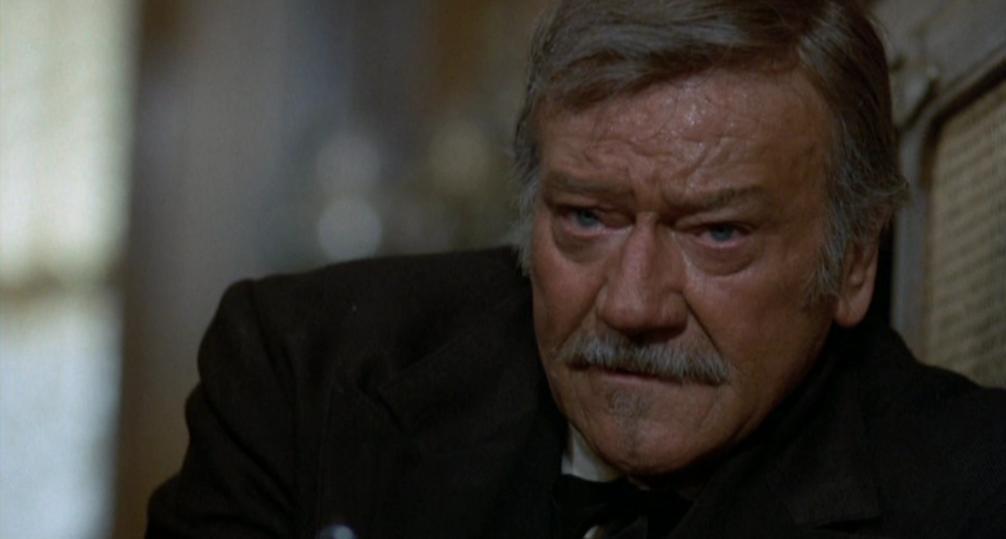 John Wayne in The Shootist (1976)