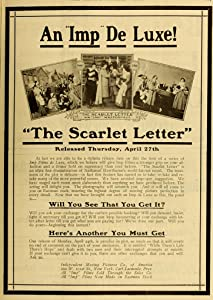 Watch free movie videos The Scarlet Letter by none [hd720p]