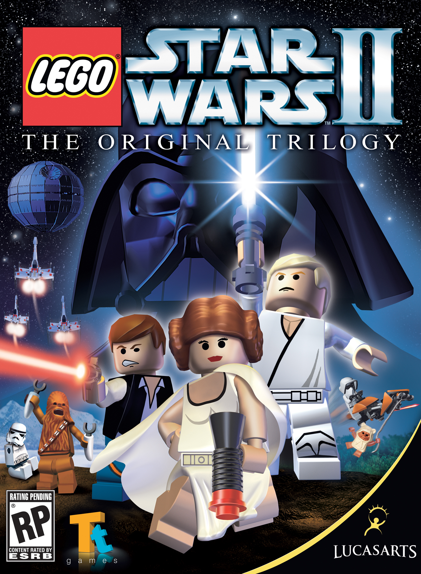 Lego Star Wars II: The Original Trilogy (Video Game 2006) - IMDb