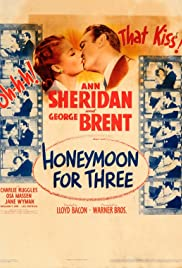 Honeymoon for Three Poster